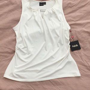 Rafaella white blouse